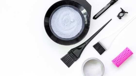 εργαλεία για βαφή μαλλιών