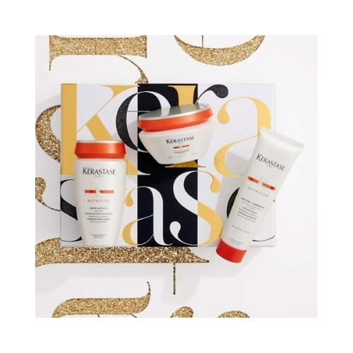 Kerastase Nutritive Holidays Luxury Gift Set (Satin 2 - Maquintense thick - Nectar Thermique)
